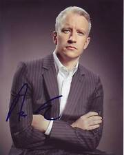 Anderson Cooper Signed Autographed 8x10 Photograph