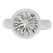 Crystal 925 Sterling Silver Ring Jewelry s.6 CRYR1574
