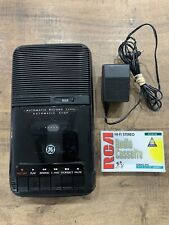 GE Cassette Recorder Player Model 3-5025A Includes AC Adapter 1 Blank Tape 90m