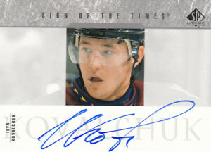 2004 SP AUTHENTIC KOVALCHUK SIGN OF THE TIMES AUTOGRAPH