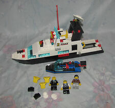 Lego 6483 Coastal Patrol Boats - All Figures - Not Complete - 1994 Boat Set