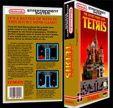 Tengen Tetris - NES Reproduction Art Case/Box No Game. Nintendo