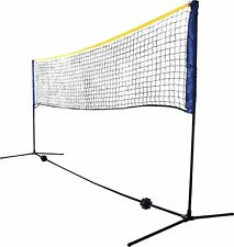 Schildkrot Funsports Net Set in Blue for Tennis Badminton Freestanding 3m Wide