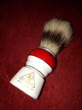 Victoria Rasierpinsel rasieren, Reine Borste mit Holzgriff