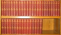 WORKS OF WASHINGTON IRVING!(COMPLETE 40 VOLUMES)non leather set George RARE!1897