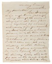 Thomas McDougall - Letter Signed - Sent to Wife - Battle Little Bighorn Survivor