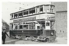 a0077 - Birmingham Tram no 645 to Depot - photograph