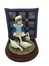 The Amish Heritage Collection Sadie Mae's Hungry Geese 30044 Limited Edition 1st