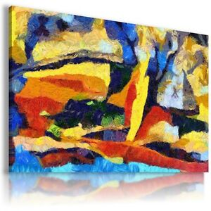 MODERN DESIGN ABSTRACT PAINT CANVAS WALL ART PICTURE LARGE SIZES AB714 X