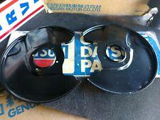 Datsun 70-78 240Z 260Z 280Z Front Disc Brake Backing Plates POWDERCOATED