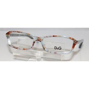 New Dolce & Gabbana D&G 1217 1877 Azure Flowers Eyeglasses Rx-able 51-15-130