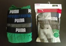 Men's Puma 3 Pack boxer briefs Size Medium in Green / Navy Blue / Gray
