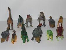 Dinosaur Toy Figure Lot T-Rex Apatosaurus Brachiosaurus Dino Jurassic World Park