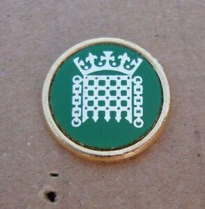 Metropolitan Police PALACE OF WESTMINSTER tie tac pin badge RARE!