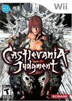 Castlevania Judgment [Nintendo Wii, Konami, Battle Fighting, Vampires] NEW