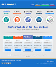 PREMIUM SEO & BACKLINKS RESELLER - Newbie Friendly Website - Free Installation
