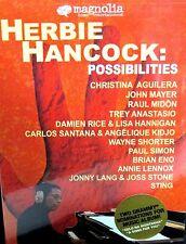 Herbie Hancock Possibilities NEW DVD, Sting,Annie Lennox, Paul Simon ,John Mayer