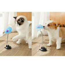 Cat Electric Leakage Food Tumbler Kitten Feather Bell Interactive Ball Toys