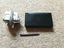 Nintendo DS Lite Onyx Black Console with Mains Charger and New Stylus