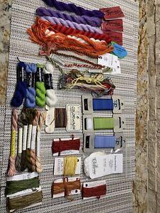 Big Lot (32)Silk Threads For Needlework, Gloriana, River Silks, Pepper Pot Plus