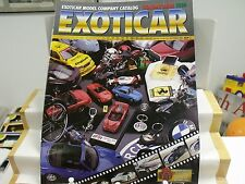 EXOTICAR MODEL CO,HOLIDAY 1995, 30 COLOR PAGES,DIECAST SALES CATALOG,.EXCEL COND