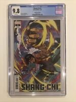Shang-Chi #1 CGC 9.8 - Kim Jacinto variant cover AND THE LEGEND OF THE TEN RINGS