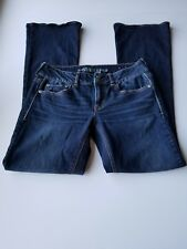 American Eagle Outfitters Womens Jeans Artist Size 4 Dark Wash Blue Cotton 503