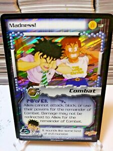 DBZ CCG DRAGON BALL Z SUPER MADNESS! #113 5 STAR RARE FOIL CELL SAGA SCORE 2001
