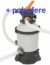 Pompa Sabbia Bestway 58515 2006 L/H + POLYSFERE 500 GRAMMI
