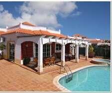 AUGUST 4 Bed 10 Guest Private Luxury Villa Caleta De Fuste Fuerteventura HOT TUB