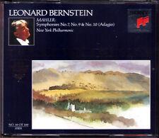 Succinico Royal Edition 50 MAHLER SYMPHONY NO. 7 9 10 adagio 2cd Leonard Filarmonica
