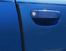 E-Tech Car Door spigoli PROTECTOR U PROFILO PORTA GUARD CHROME 2M resistente ai graffi