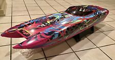 New ListingTraxxas M41 Cataraman Rc Boat. Super Modified! 2 Hours Run Time. Super Fast!