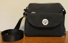 Baggallini Small Black Nylon Crossbody/Shoulder Bag/Wallet Compartment in EUC!