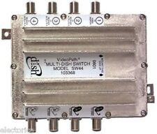 SW44 SWITCH For Dish Network MULTI SW-44 110 119 SATELLITE Bell TV 4x4