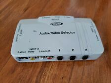 Working Intec Universal Audio Video Selector for Console TV DVD Player