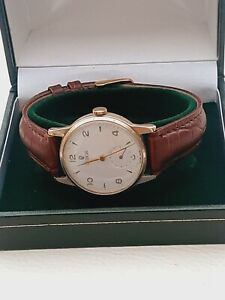 9ct gold Tudor by Rolex mens watch