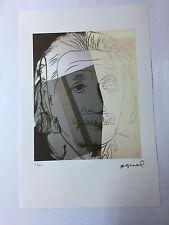Andy Warhol Litografia 57 x 38 Arches France Timbro Secco Galleria Arte A214