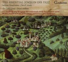 The Clerks' Group And Edward Wickham - The Essential Josquin Des Prez (NEW CD)