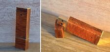 Steampunk wooden handmade USB flash drive