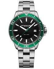 Raymond Weil Tango 300 Men's Quartz Steel Green Diver Watch 8260-ST7-20001
