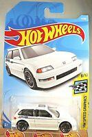 2019 Hot Wheels #4 HW Speed Graphics 8/10 '90 HONDA CIVIC EF White w/Black J5 Sp