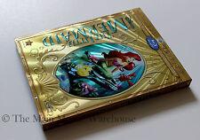 Disney Animated Masterpiece The Little Mermaid Blu-ray DVD Digital w/ Slipcover
