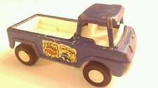 Vintage Tootsie Toy-1969 Wheelie Wagon Blue Pick Up Truck--Made in the U.S.A.