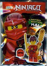 LEGO NINJAGO™ - Figur Kai mit Maske, Schwert und Feuer Kettensäge Limited Ed.