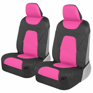Hot Pink Waterproof Car Seat Covers for Auto Truck Van SUV