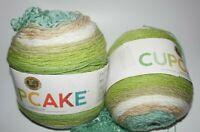 "1-3/4 Cakes, Lion Brand, ""Cupcake"", Sand Castle, Acrylic/Wool Blend Yarn"