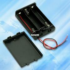 Black 3 AA Battery Holder Box Case With Switch EE4068 5814248