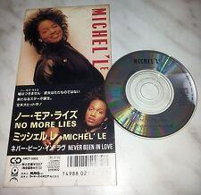 "CD MICHEL'LE - NO MORE LIES - AMDY-5003 - JAPAN 3"" INCH - SINGLE"
