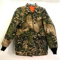 Vintage Field N' Forest Mens Medium M Camo Hunting Jacket REVERSIBLE USA-Made